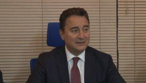 """Deva Partisi Genel Başkanı Babacan: """"Siyasi partilerin kapatılmasına karşıyız"""""""