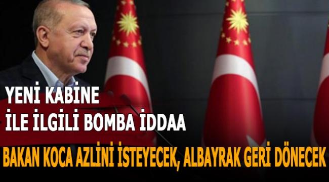 Siyaset kulislerinin son bombası! Albayrak parti yönetimine dönecek, Ziya Selçuk ve Fahrettin Koca yeni Kabine'de yer almayacak