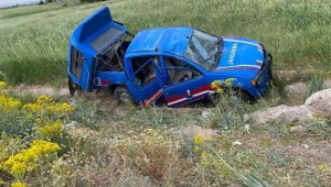 Kahramanmaraş'ta askeri araç kaza yaptı: 6 yaralı